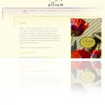 Allium Restaurant Website Marketing and Development